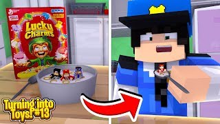 Minecraft Toys #13 - ROPO, CARLY & JACK GET EATEN BY THE SECURITY GUARD!!