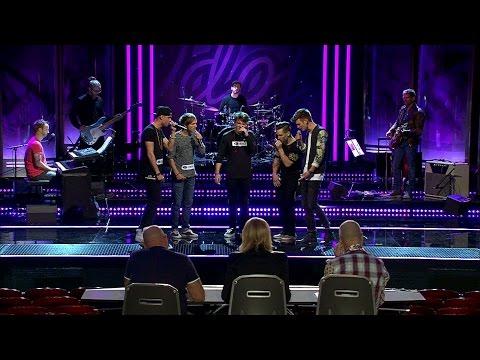 Här blir Ludvig Keijsers pojkband totalsågade av Idol-juryn i Idol 2014 - Idol Sverige (TV4)