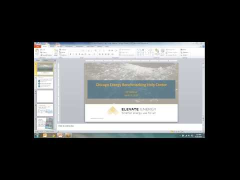 Seattle Energy Benchmarking Help Center (Webinar)