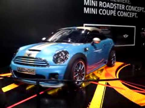Mini Roadster And Coup Concepts On The Turntables At The Frankfurt