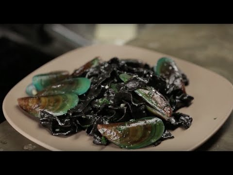 Squid Ink Noodles With Mussels | Erwan Heussaff