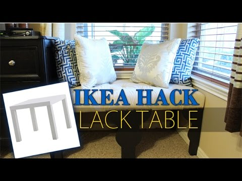 ikea hack lack table transformation diy youtube. Black Bedroom Furniture Sets. Home Design Ideas