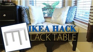 Ikea Hack | Lack Table Transformation | Diy