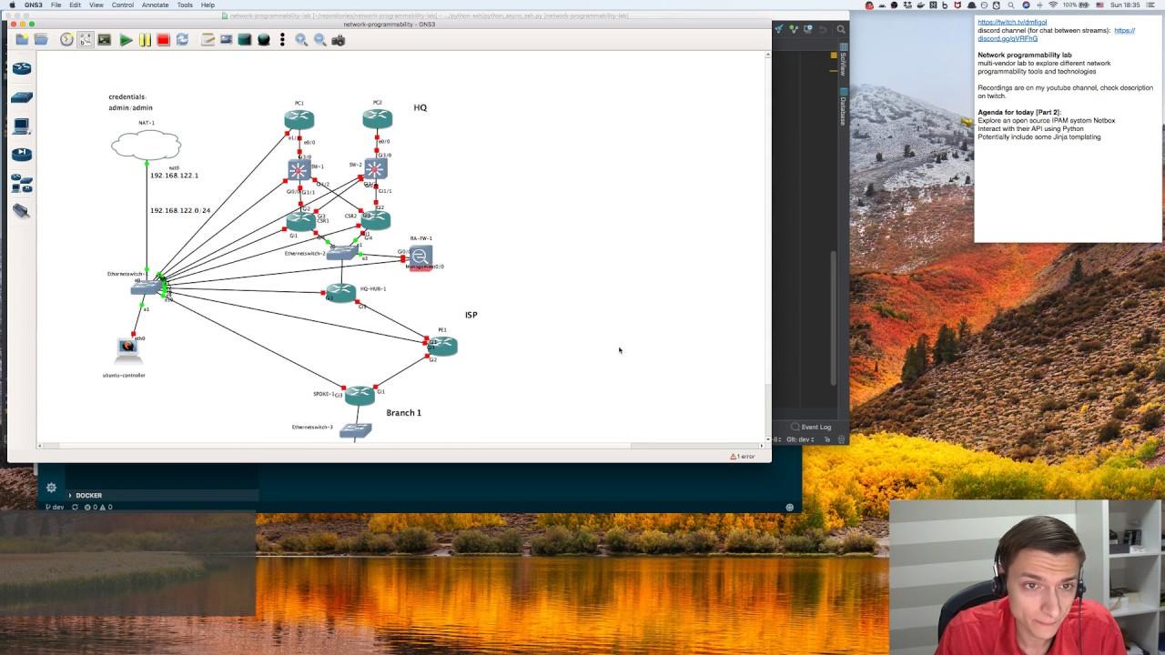 IPAM NetBox and its API, Docker, Postman – Network programmability stream 2
