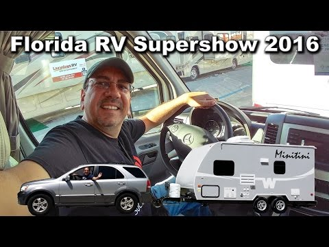 Florida RV Supershow 2016 - Class B and B+. Comfort vs. Flexibility | Traveling Robert