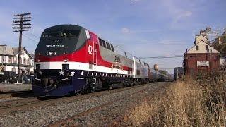 Amtrak Autumn Express Train Excursion November 2014