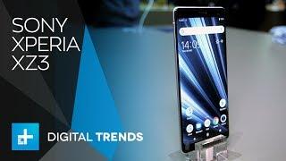 Sony Xperia XZ3 Hands On at IFA 2018