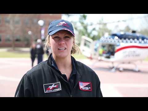 Air Evac Lifeteam Visits MGA Department Of Nursing