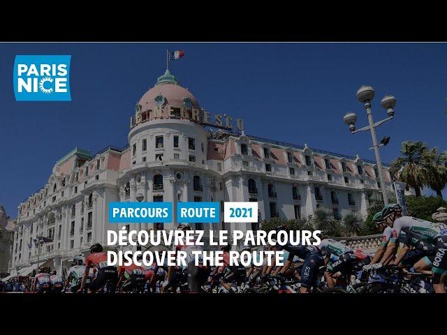 Paris-Nice 2021 - Découvrez le parcours / Discover the route