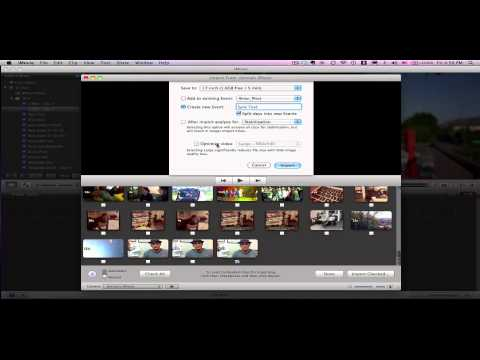Import movies from your iPhone to iMovie 11