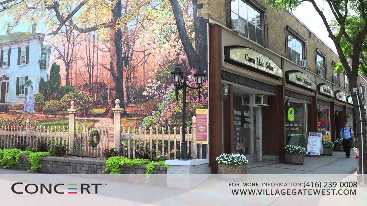 Village gate west in toronto 39 s west end by concert for 7 summerland terrace