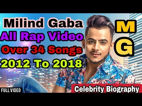 Milind Gaba Music MG All Rap Video 2012 To 2018 (All Over 34 Songs) By Celebrity Biography