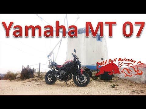Yamaha MT 07 - HAVING FUN!