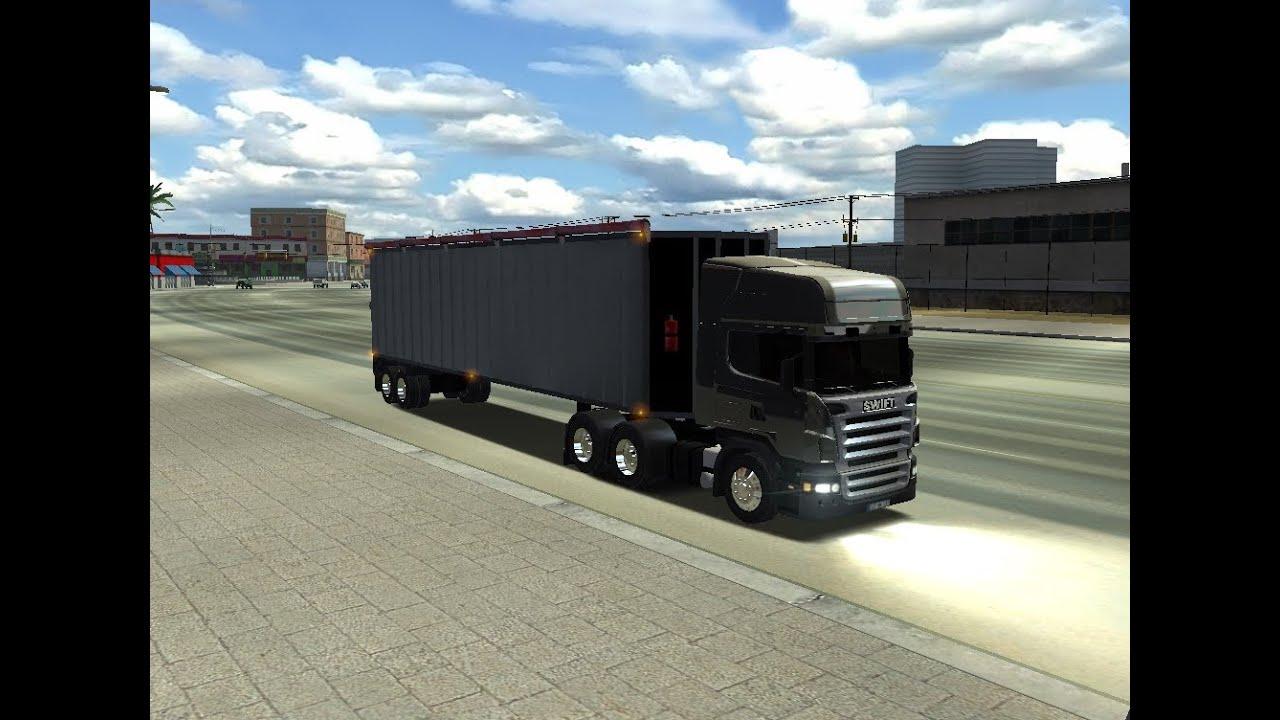 caminhoes scania para haulin