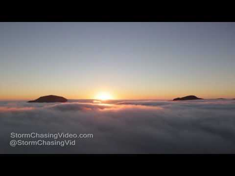 Otago Peninsula New Zealand Stunning Foggy Sunrise - 3/17/2017