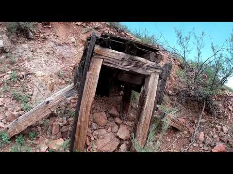 Finding Something Unexpected In An Unnamed Prospect (Abandoned Mine) Near Hillsboro, New Mexico