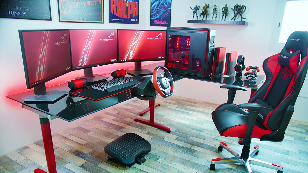 best chair for pc gaming 2016 rustic dining table and chairs the setup of youtube