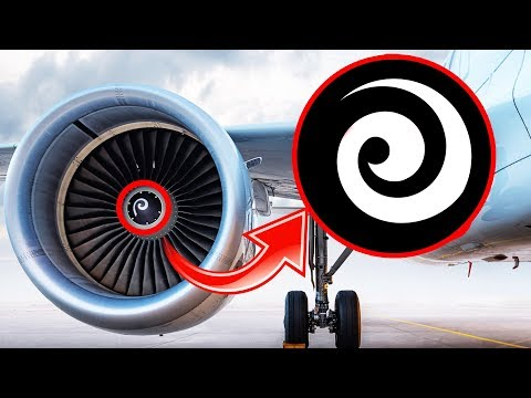 Miért van SPIRÁL a Repülőgépek Hajtóművén??? [LEGJOBB] thumbnail