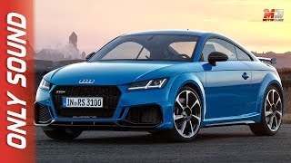 NEW AUDI TT RS 2019 - FIRST TEST DRIVE ONLY SOUND