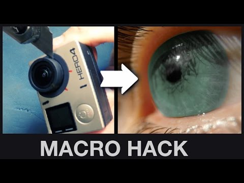 Turn the GoPro into a Macro Camera | Hack