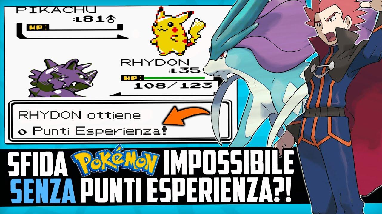 Puoi FINIRE POKÉMON Cristallo SENZA PUNTI ESPERIENZA? - Pokémon Challenge