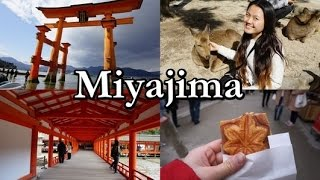 MIYAJIMA・宮島   Deer, shrine and momiji manju! (Travel Vlog #8)