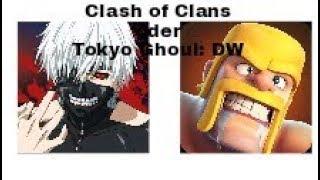 Tokyo Ghoul: Dark War oder Clash of Clans