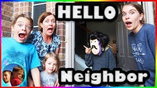Hello Neighbor Game In Real Life! / Steel Kids