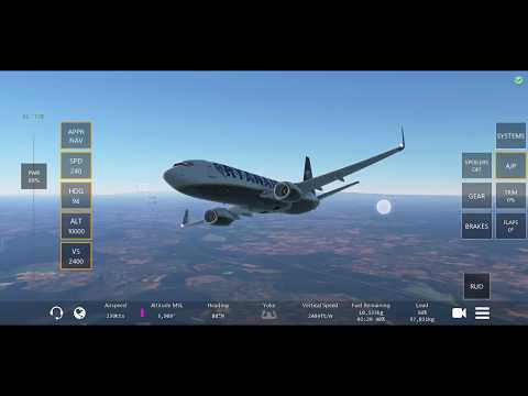 EDSB → EDSS | Boeing 737-800 | Infinite Flight