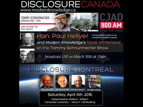 Disclosure Canada Tour - ET Disclosure Chat - CJAD 800 Montreal