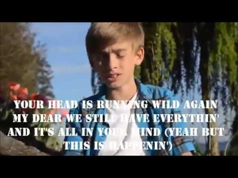 P!nk Just Give Me A Reason Cover by Johnny Orlando lyrics ...