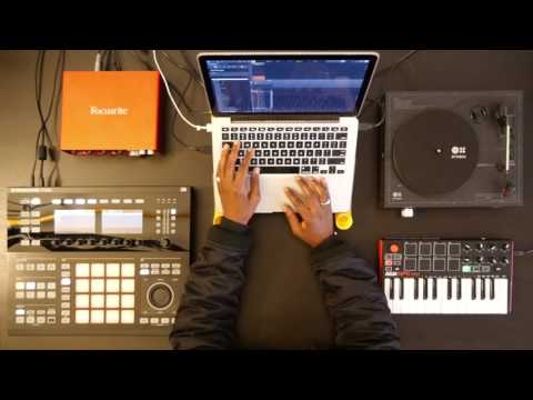 How to use Maschine hardware with Serato Sample