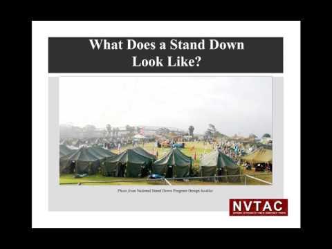 Stand Down Development Webinar
