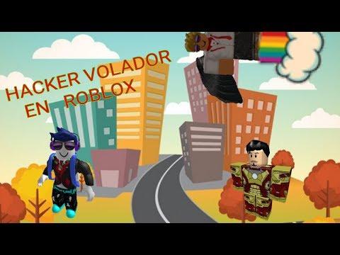 Hacker volador en Roblox !!!!!