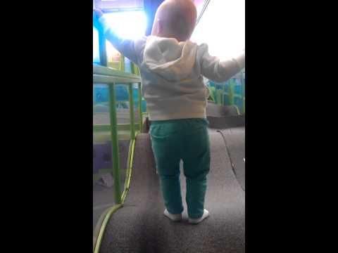 Playing at Wonderscope Children's Museum