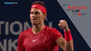 Rogers Cup 2018 Thursday Night Highlights: Nadal survives Stan, Khachanov upsets Isner