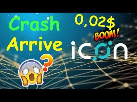 ICX 0.02$ OBJECTIF DU CRASH !? icon analyse technique crypto monnaie bitcoin
