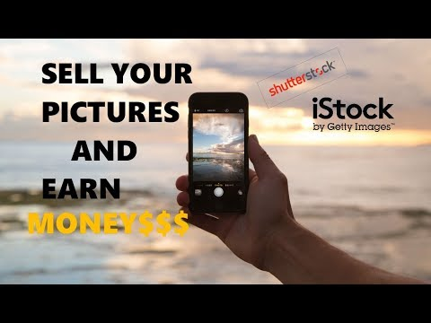 Earn money online by Selling your Pictures