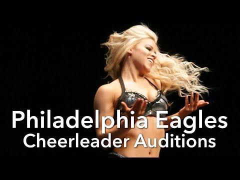 Philadelphia Eagles cheerleader auditions 2018
