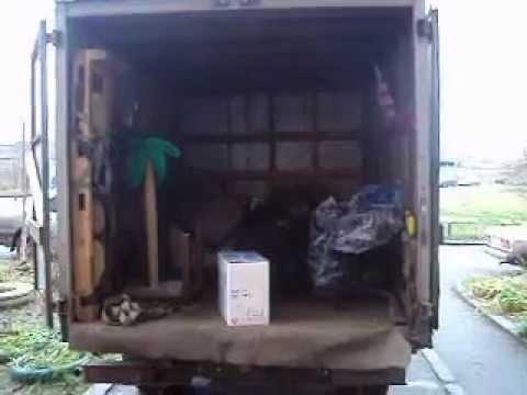 Перевозка домашних вещей компанией Gvoz .AVI