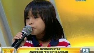 UH: UH Morning Star: Angelico 'Echo' Claridad, 7-year Bee Gees Wannabe