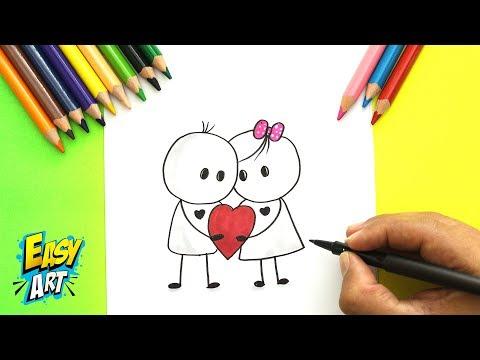 IDEAS Para crear tarjetas de Amor - San valentin - para principiantes  - DIY Love