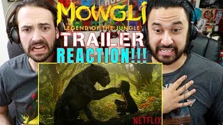 MOWGLI: LEGEND OF THE JUNGLE   Official TRAILER REACTION!!!