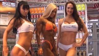 FEMALE Fitness Model Motivation - Oksana Grishina , Larissa Reis AND Zsuzsanna Toldi