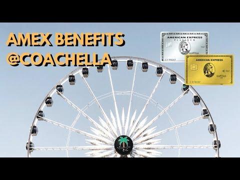 Amex Benefits: Platinum House And Coachella Perks