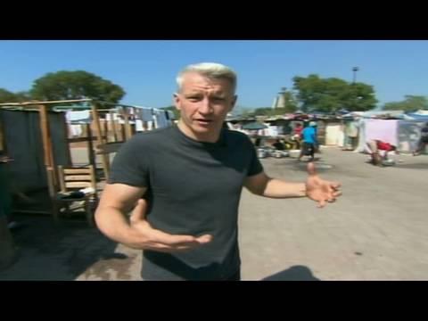 Living in Haitian tent cities
