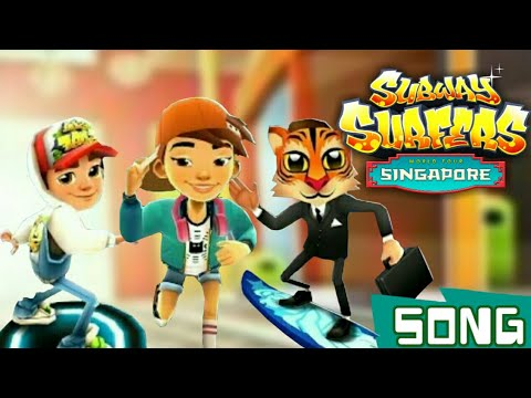🎵Subway Surfers Singapore Theme Song