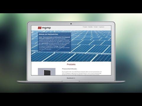 MGMP Handels GmbH, Web Design