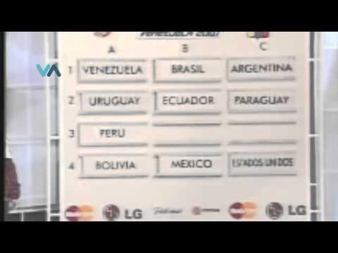 Chile, Brasil y Argentina cabezas de seria en la Copa América
