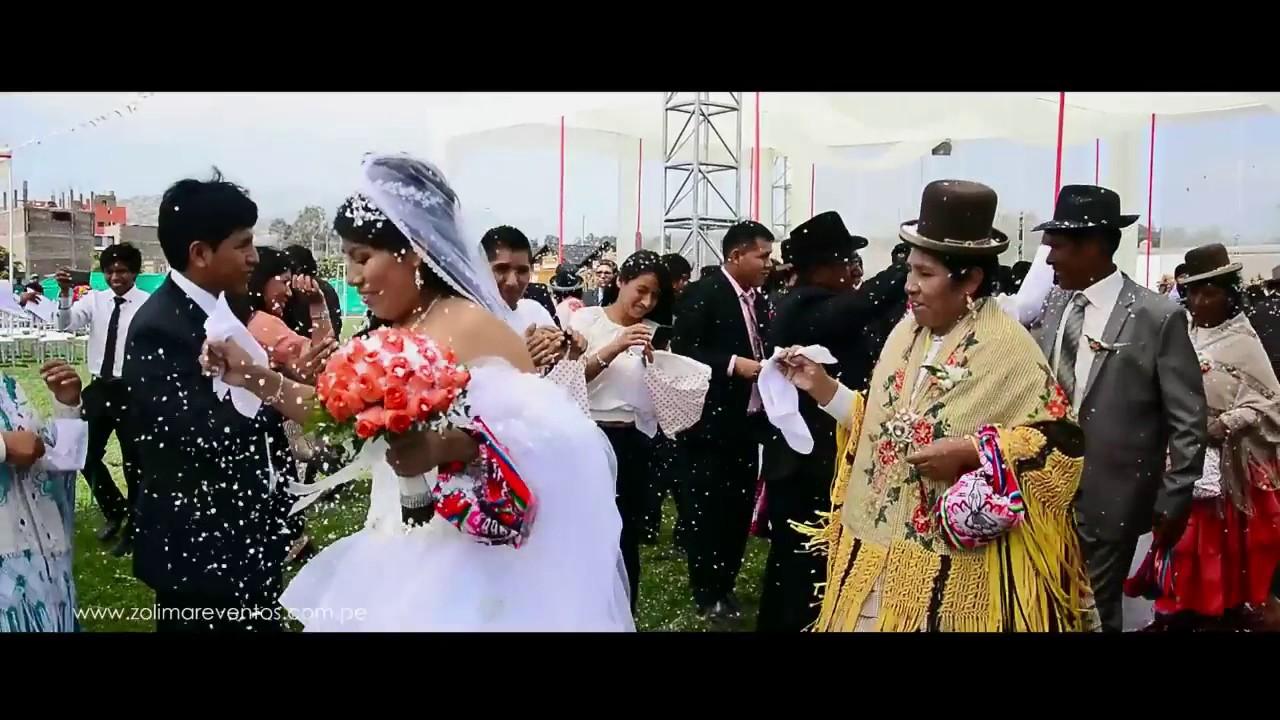 Matrimonio Simbolico En Lima : Matrimonio estilo puno en lima youtube